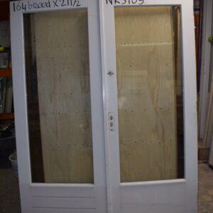 Openslaande deuren met glas