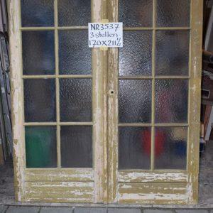 Portaaldeuren met glas